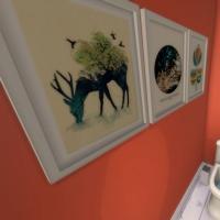 Maison Ecureuil wc enfants