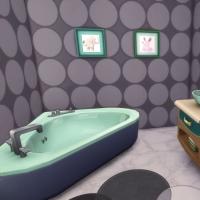 maison de star chambre enfant salle de bain