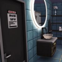 maison de star piscine intérieure salle de bain 1