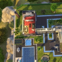 maison de star plan étage 1