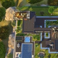 maison de star plan étage 2
