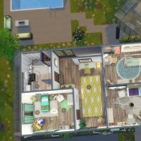 Villa verte plan étage