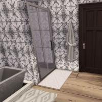 Villa verte salle de bain étage 1