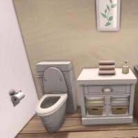 Villa verte wc rez de chaussée