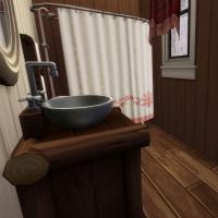 Gingerbread salle de bain