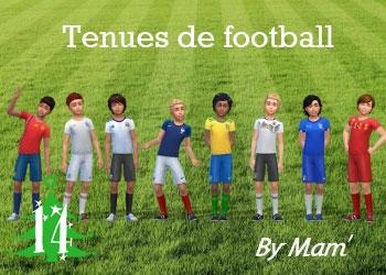 Tenues de football