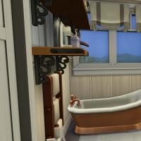Appartement - salle de bains vue 1