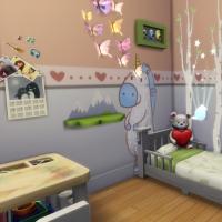 Chambre enfant vue 3