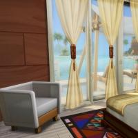 Hoya iles paradisiaque suite parentale chambre 1
