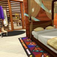 Hoya iles paradisiaque suite parentale chambre 2