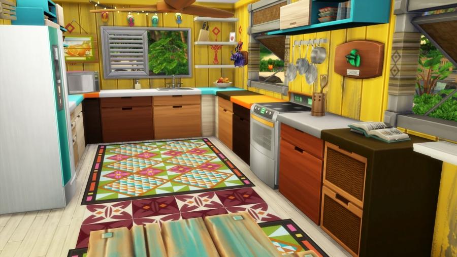 Sims 4 Iles Paradisiaques Paradise Island Construction Maison Building