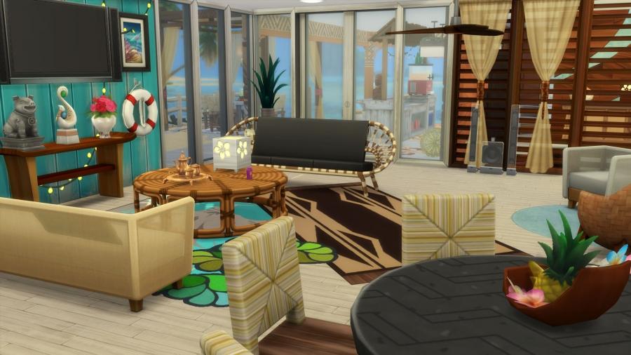 Sims 4 Iles Paradisiaques Paradise Island Construction