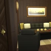 Yacht - étage 1 - la deuxième suite - l'espace salon