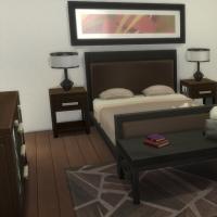 Yacht - étage 1 - la deuxième suite - le lit
