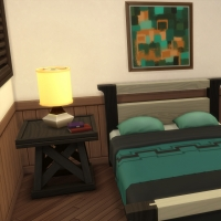 Yacht - étage 1 - la petite chambre - vue 1