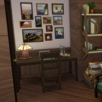 Yacht - étage 1 - la petite chambre - vue 2