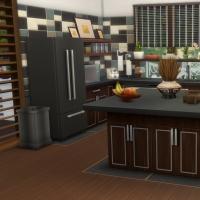 Yacht - étage 2 - la cuisine - vue 1