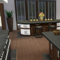 Yacht - étage 2 - la cuisine - vue 2