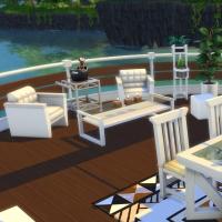 Yacht - étage 2 - la terrasse