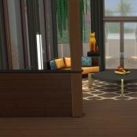 Yacht - étage 2 - le salon - le coin des canapés - vue 1