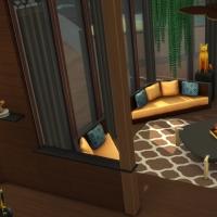 Yacht - étage 2 - le salon - le coin des canapés - vue 2