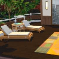 Yacht - étage 3 - la terrasse - vue 2