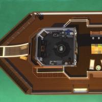 Yacht - étage 3 - plan de l'étage 3