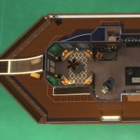Yacht - plan de l'étage 2