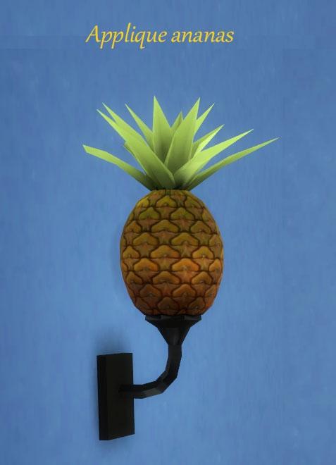 Applique-ananas