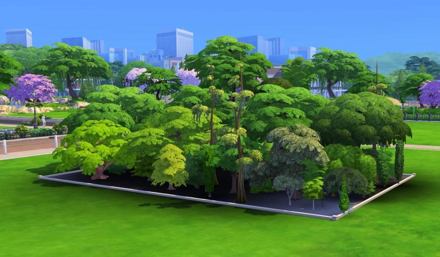 mode debug arbres jeu de base vue coté