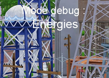 Les réseaux d energies du mode debug