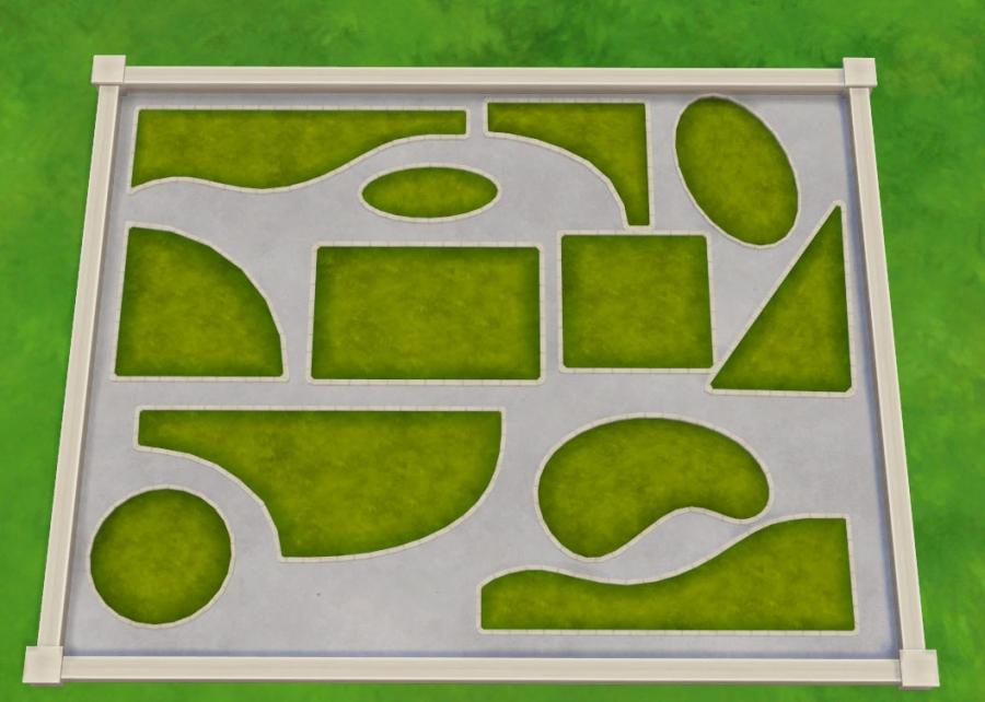 sims 4 mode debug pelouses morceaux