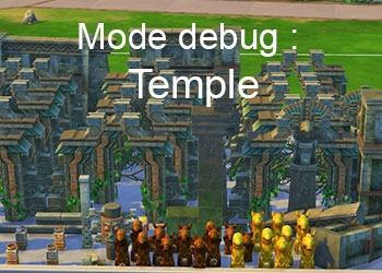 Les �l�ments du temple Dans la Jungle du mode Debug