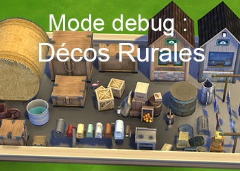 La décoration rurale du mode debug
