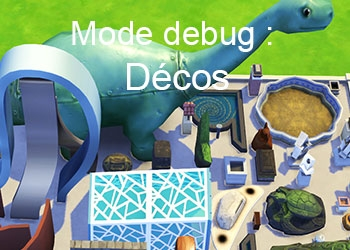 La d�coration du mode debug