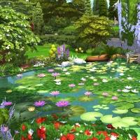 Giverny claude monet jardin été 11