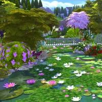 Giverny claude monet jardin été 12