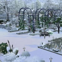 Giverny claude monet jardin hiver 4