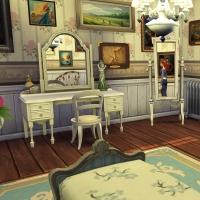 Giverny claude monet jardin interieur chambre bleue 1