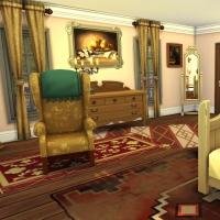 Giverny claude monet jardin interieur chambre jaune 1