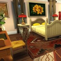 Giverny claude monet jardin interieur chambre jaune 2