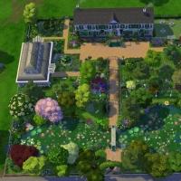 Giverny claude monet jardin interieur plan 1
