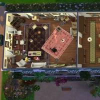 Giverny claude monet jardin interieur plan 3