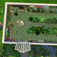 Giverny claude monet jardin interieur plan 4