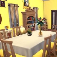 Giverny claude monet jardin interieur salon jaune 1
