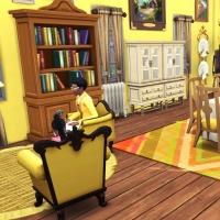 Giverny claude monet jardin interieur salon jaune 2