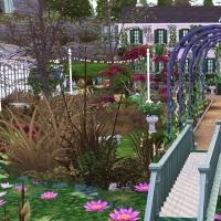 Giverny claude monet jardin printemps 10