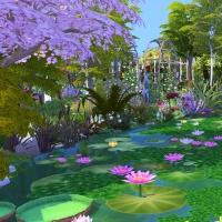 Giverny claude monet jardin printemps 2