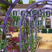 Giverny claude monet jardin printemps 7