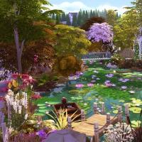 Giverny claude monet jardin printemps 9